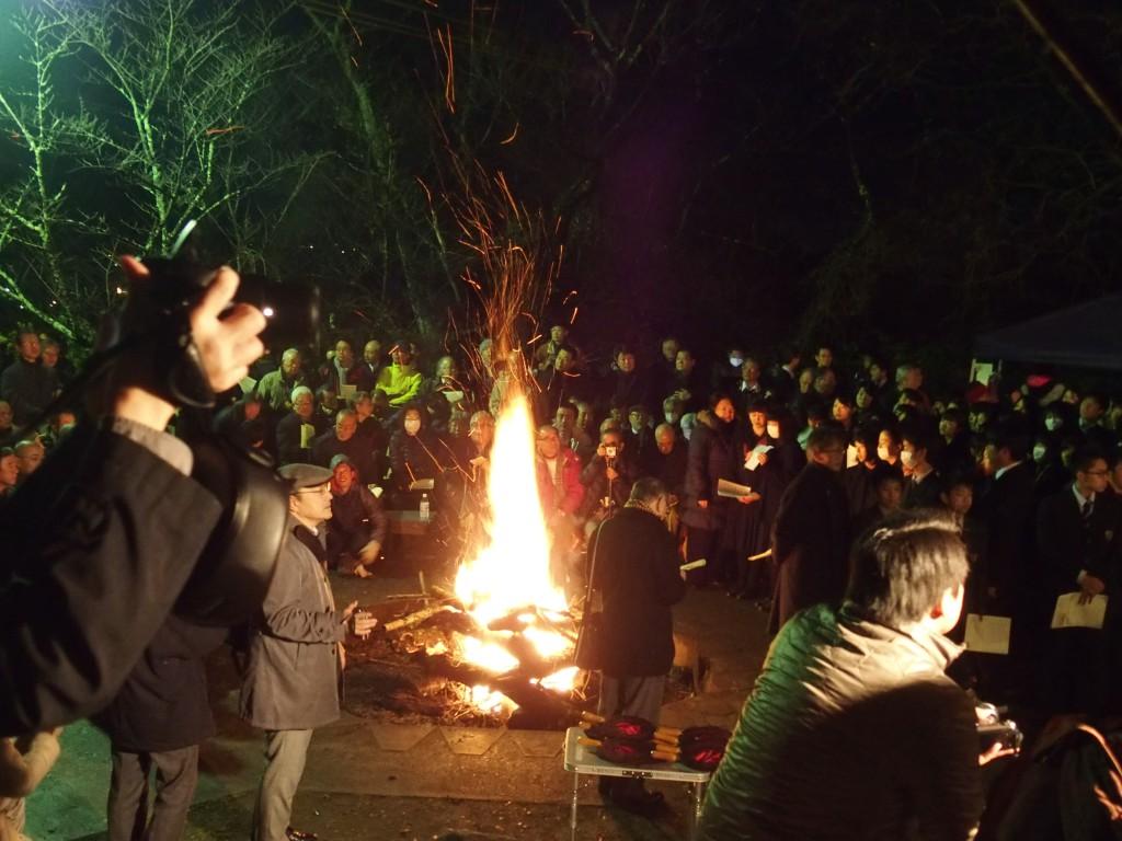 祈祷会篝火(1)