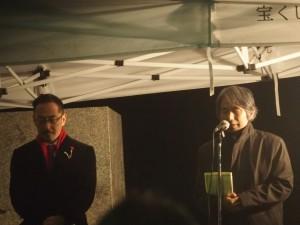 祈祷 石川キリスト教文化センター所長