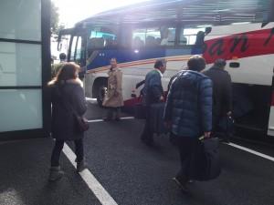 ゆかりの地ツアーへ出発!(1)