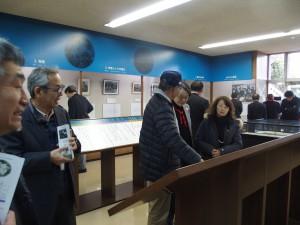 徳富記念館内にて(2)